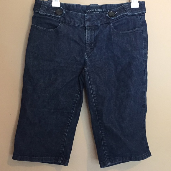 Banana Republic Pants - Banana Republic denim bermuda shorts